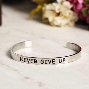 NEW Never Give Up Bangle